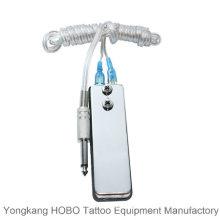 Mini pedal tipo máquina de tatuagem tatuagem fonte de alimentação interruptor de pé