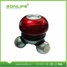 Hot selling LED operated vibrating mini massager electric