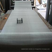 Malla de alambre holandesa de acero inoxidable 316