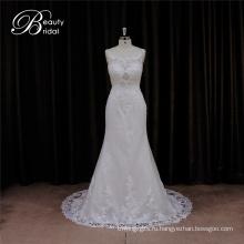 Реальный Свадебные платья Русалка