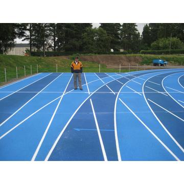 SGS IAAF-zertifizierte Courts Sports Surface Flooring Athletic Running Track