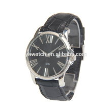 Nouvelle conception romaine Index Watch Hot vente fabricant Whosale montres en cuir
