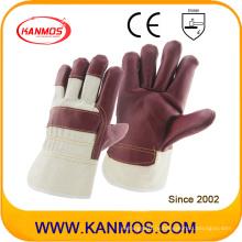 Красная мебель из натуральной кожи Промышленные перчатки для рук ручной безопасности (310042)