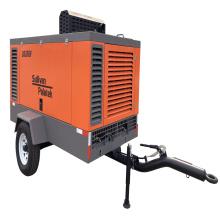 Diesel Drive Portable Screw Air Compressor