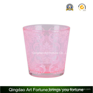Hot Candle Bougeoir Tealight Porte-bougie en verre