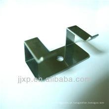 Ganchos fixos de aço inoxidável com furos fixos com furos