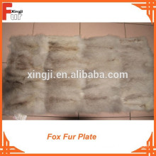 Good Quality Fox Belly Plate Fox Fur Plate