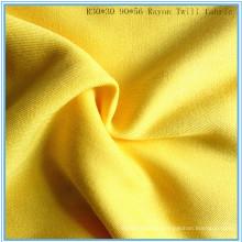 Twill Weave Viscose Rayon Fabric Lady Shirt Fabric P