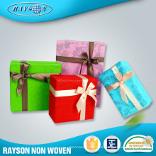 Geschenkverpackungs-Versorgungsmaterialien nichtgewebtes lamiertes Nizza Jumbo Rollen-Weihnachtsgeschenk-Packpapier