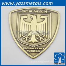 Custom made metal bike badge