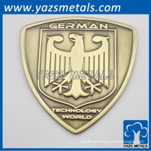 Emblema de bicicleta de metal feito sob encomenda