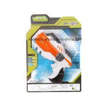 Пластиковые игрушки в B/o пистолет с мигающий свет лазера