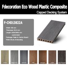 Good Surface Wood Textured WPC Floor Plastic Wood WPC
