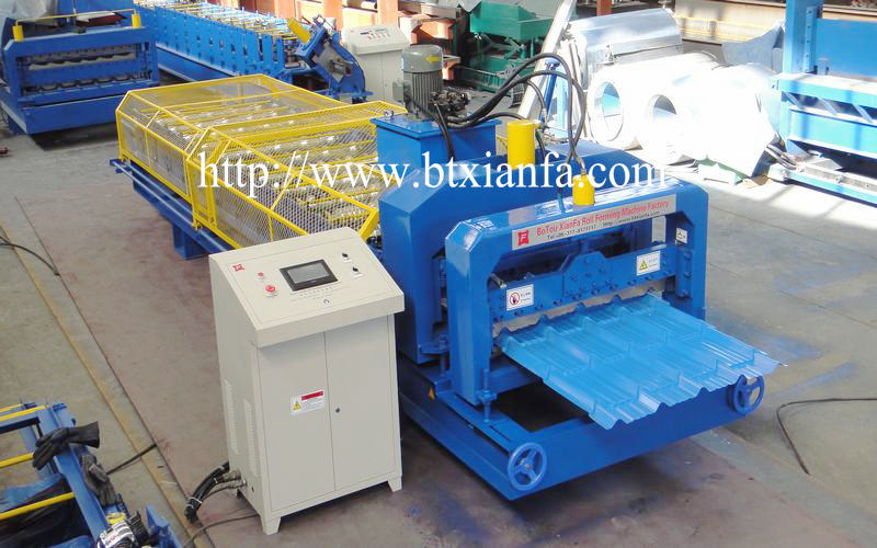 Glazed Tile Sheet Roll Forming Roof Machine (2)