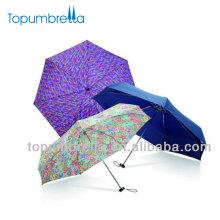 Chuva Quadrada Guarda-chuva Dobrável Subliming Impresso Guarda-chuva