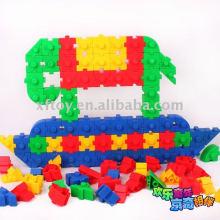 Plastic Kindergarten building blocks
