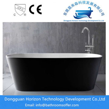 Large freestanding bath acrylic bathtub