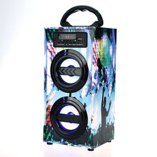 600mAh sound system ibastek dolphin speaker, Portable karaoke led crackle design bluetooth speakers