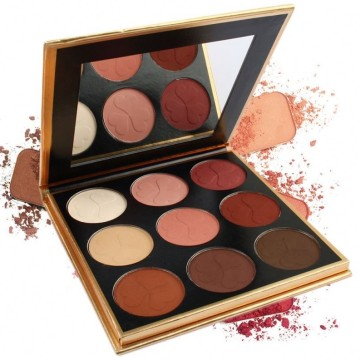 High Pigment Private Label 9 Colors Palette Σκιά ματιών