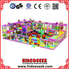 Candy Theme Kombination Chidlren Indoor Soft Play Center