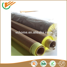 Taixing Lieferant Fabrik Rabatt Preis Selbstklebend Hochtemperatur-PTFE Glasfaser Tape 0,08-0,35mm