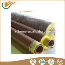 Taixing proveedor precio de fábrica de descuento Cinta autoadhesiva de alta temperatura PTFE Glassfiber 0.08-0.35mm