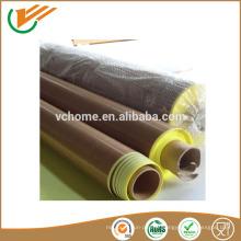 Prix de réduction de l'usine de fournisseurs Taixing Ruban en fibre de verre PTFE haute température auto-adhésif 0.08-0.35mm