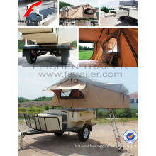 Roof tent camper trailer