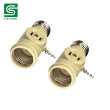 E26 Ivory Lampholder with Chain/ Bakelite Pull Chain Socket