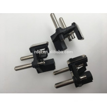 4.8mm 2 poliger Steckereinsatz (VDE geprüfter Steckereinsatz,