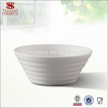 Guangzhou céramique blanche porcelaine riz chinois bols en gros Chine