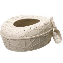 Пластиковый Кошачий Туалет,Наполнитель Для Кошачьего Туалета Коробка Дешевые