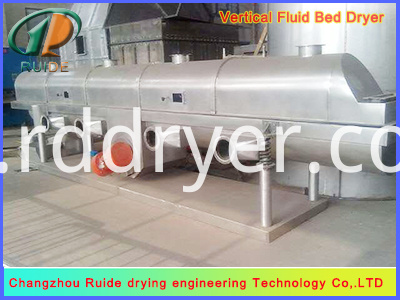 Energy saving ZLG1.2x8 fluid bed dryer manufacturer