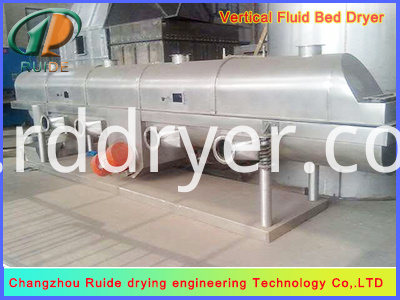 High Quality Vibrating Fluid Bed Dryer Sodium Chloride Dryer Machine