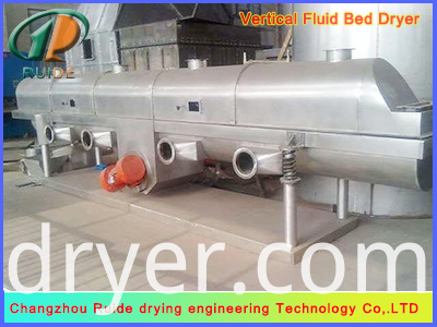 ZLG vibrating fluid bed drying equipment