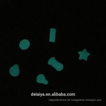 Custom shape glow in the dark epoxy dome sticker