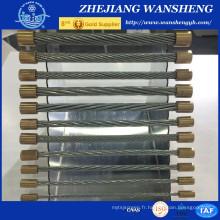 5/16 Strand Galvanized Steel Messenger Wire / Steel Wire / Guy Strand