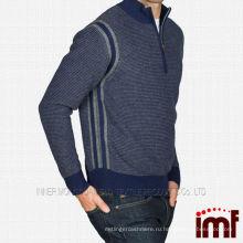 Оптовая Mens Mock шею кашемировые свитера