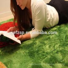 fashion polyester foam floor living room mat/rug