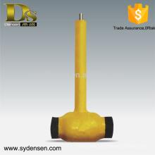 Válvula de bola de acero inoxidable de 2 pulgadas con mango largo