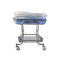 Medical equipment 304 Stainless steel Adjustable hospital baby bed cot