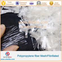 Fibra de alta qualidade dos grampos dos PP da malha da fibra dos PP