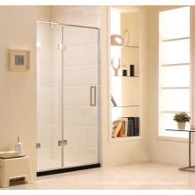 Nuevo estilo simple pantalla de ducha de cristal articulado (k11)