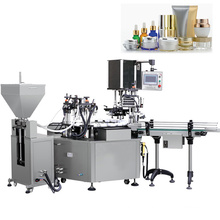 Automatic water bottle filling capping and labeling machine