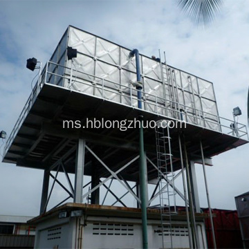 Reka Bentuk Tangki Air Galvanized Steel Water Tank