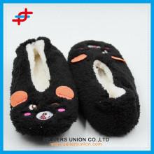 Winter Indoor Warm Anti-slip Cute Animals Slipper Boots for wholesale