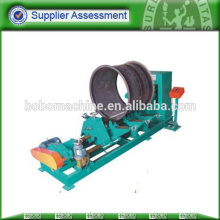 hydraulic flanging machine for fan