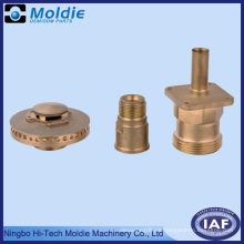 Parte de mecanizado de cobre CNC para el sistema limpio