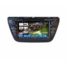 Qcat core !! Suzuki Crossover/SX4 2013 car Gps navigation with BT
