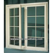 fenêtre blanche de couleur blanche de maison de conception de maison de PVC
